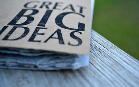 The lack of importance of 'The Big Idea' in Writing and in Business