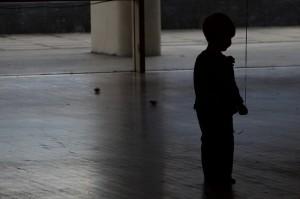 child dark