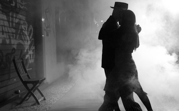 Tango and Italy .. and another evening gone..