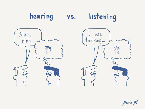 Hearing not Listening in Tango
